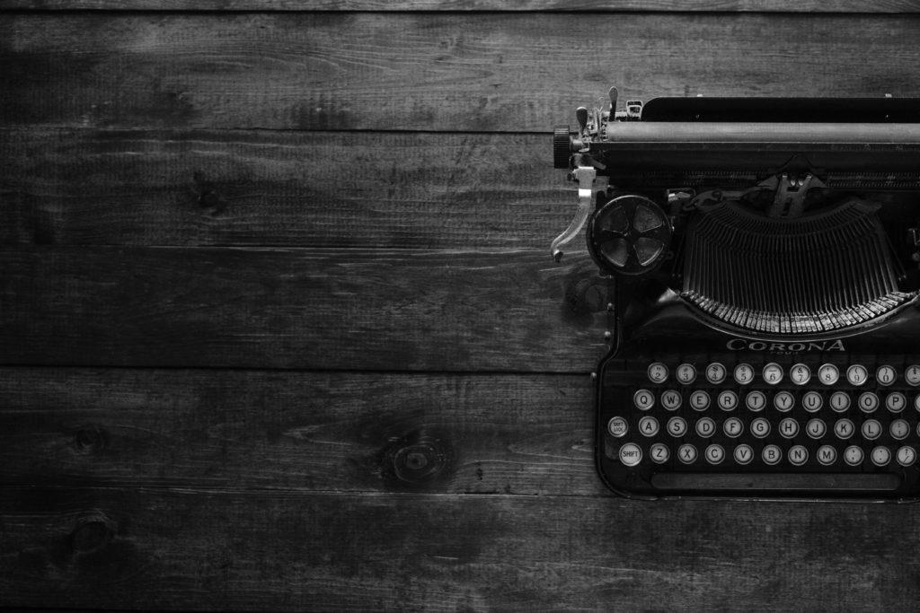 témoignages 2 machine à écrire